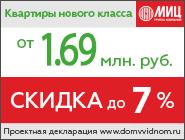 ЖК «Зелёные аллеи». Акция Скидка до 7%! Только до 2 апреля
